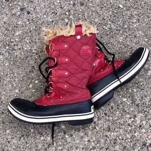 Sorel Tall Red Torino Boots